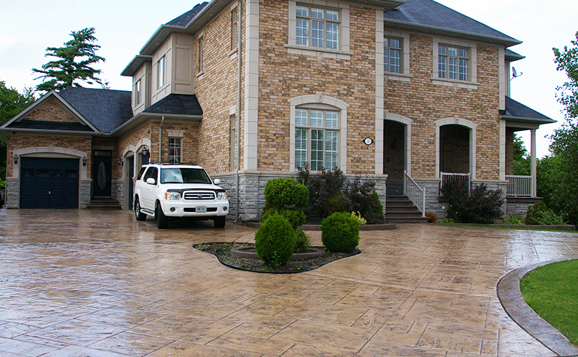 Increase the Value of your Home with Stamped Concrete